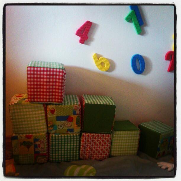 ♡ Tuto : Petits cubes