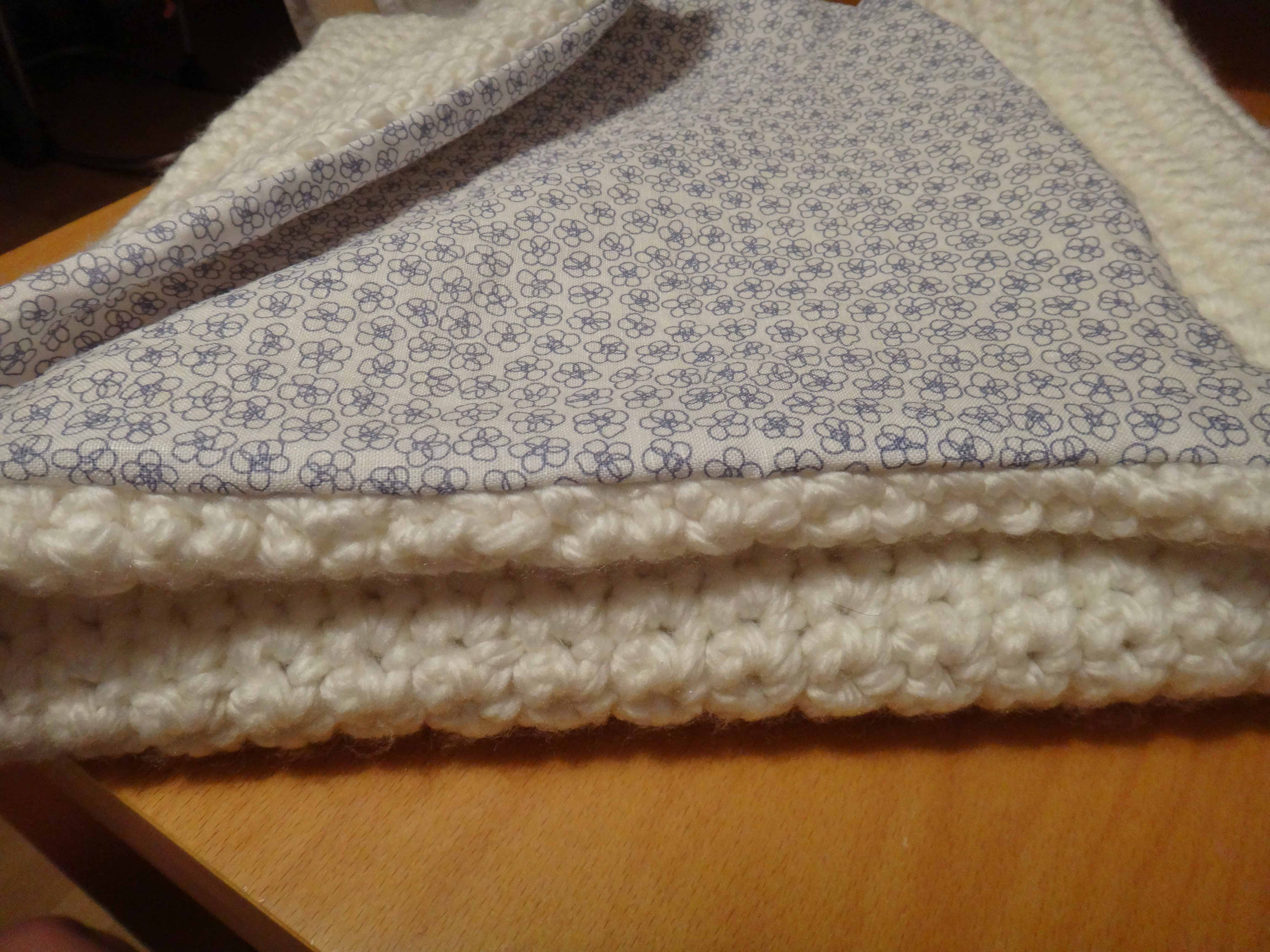 Tuto : La couverture en laine, travail d'equipe, mère/fille !