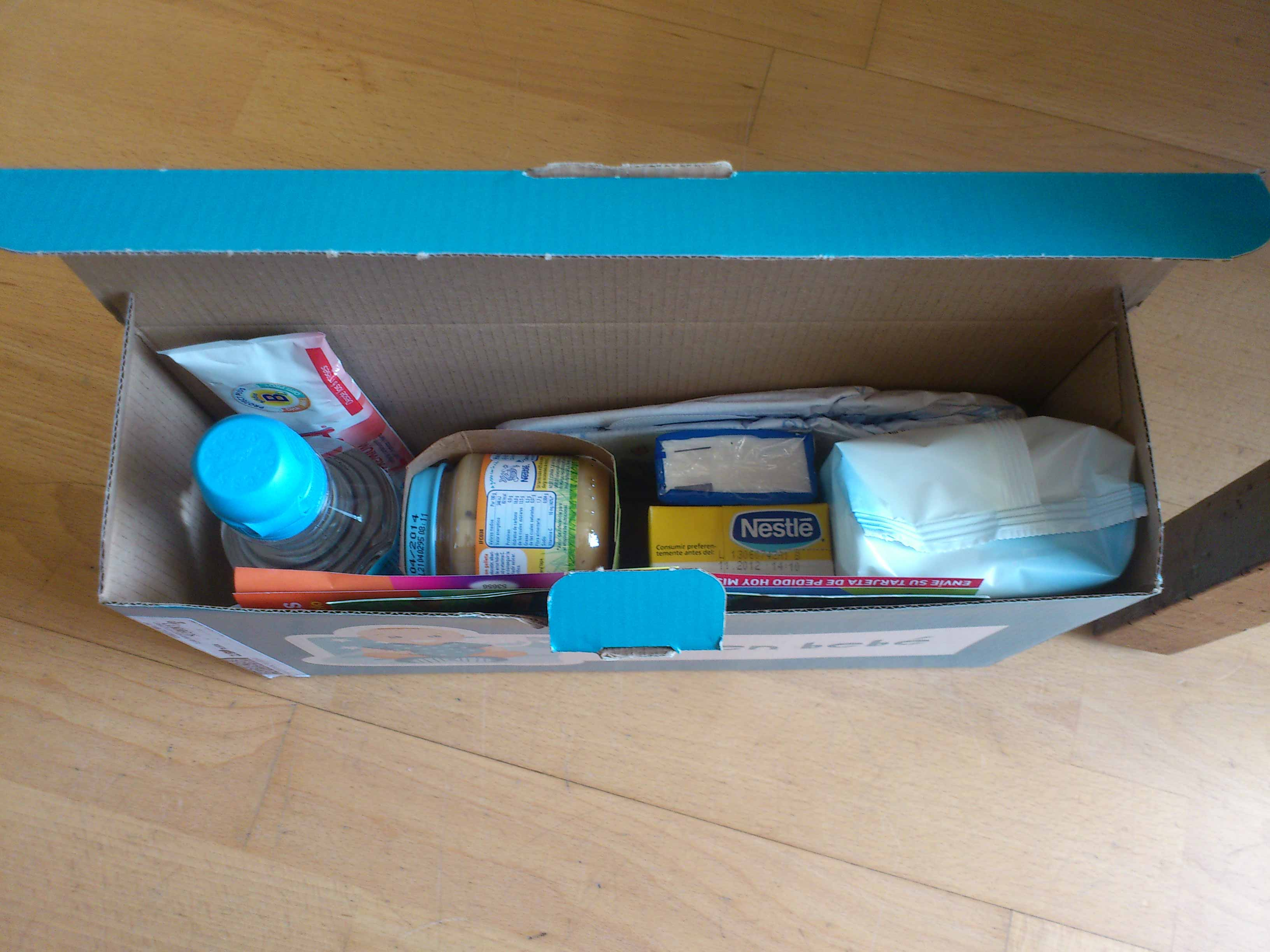 ♡ La boite bleue