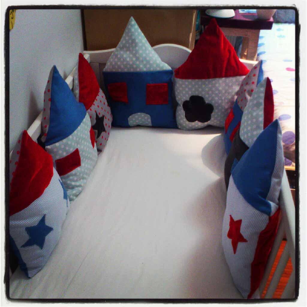 Fabuleux ♡ Tuto : Le tour de lit fait maison du roi | Tutos enfant  BA05