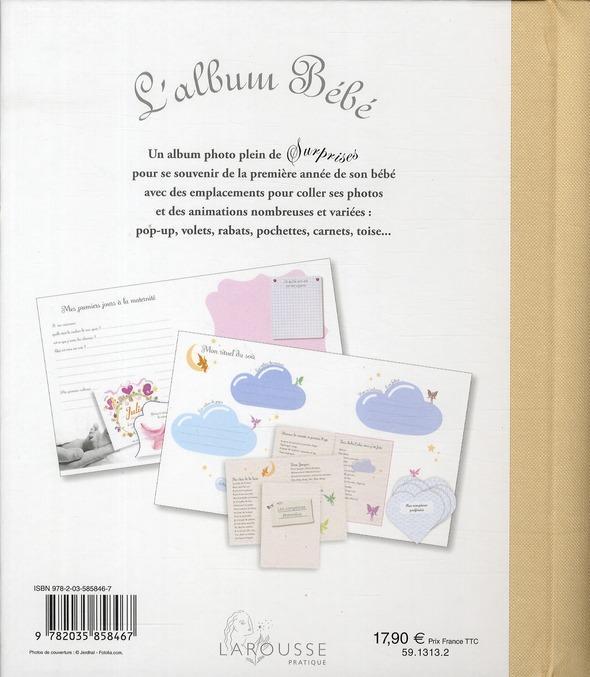 L'album Bébé de Larousse