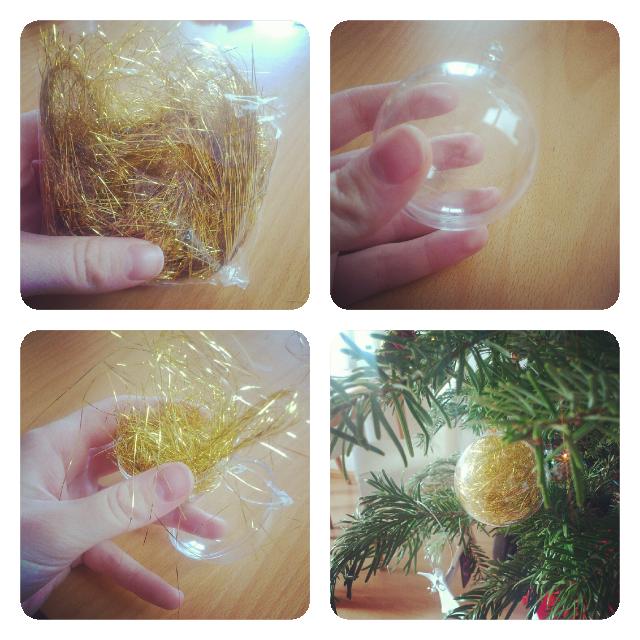 ♡ Tuto : Petites boules transparentes de Noël à customiser  ♡ Tuto : Petites boules transparentes de Noël à customiser