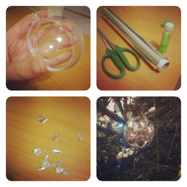 ♡ Tuto : Petites boules transparentes de Noël à customiser