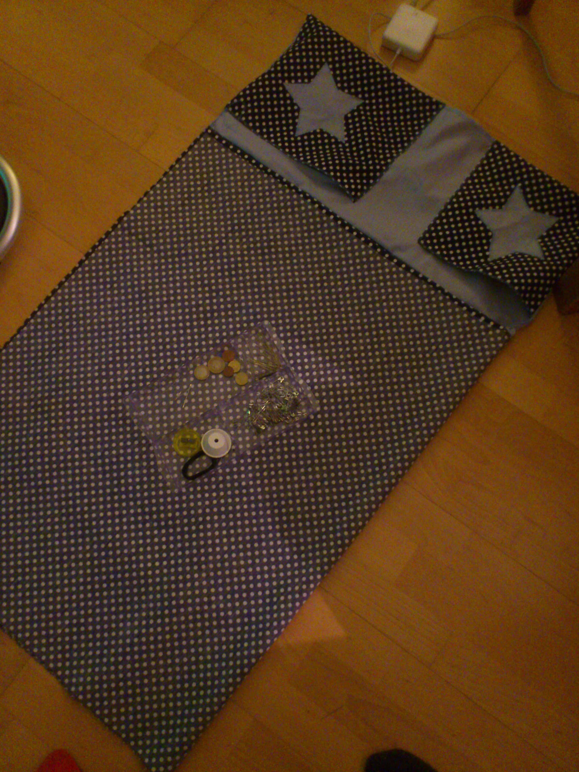♡ Tuto : Housse de matelas table à langer