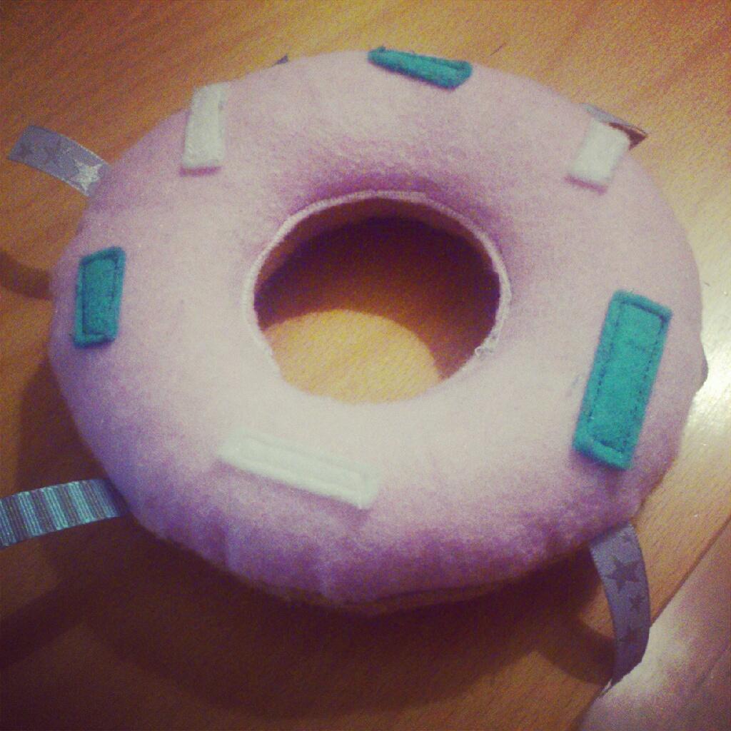 ♡ Tuto : Donut en feutrine !