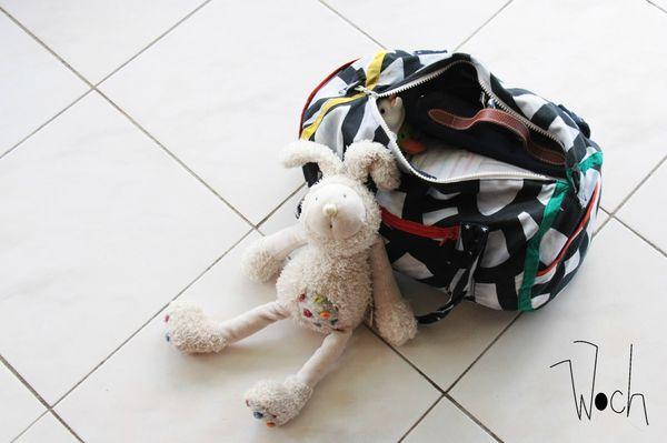 ♡ Il y a quoi dans un sac à langer ?
