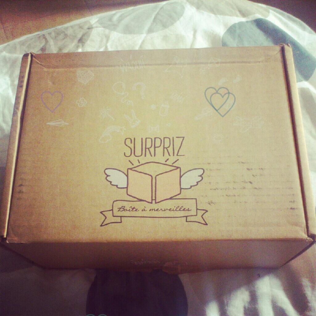 ♡J'ai testé : la boite à merveilles de Surpiz !  ♡J'ai testé : la boite à merveilles de Surpiz !