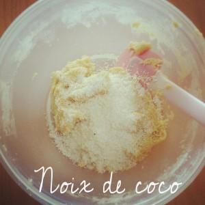 Gateaux choco/coco et amande
