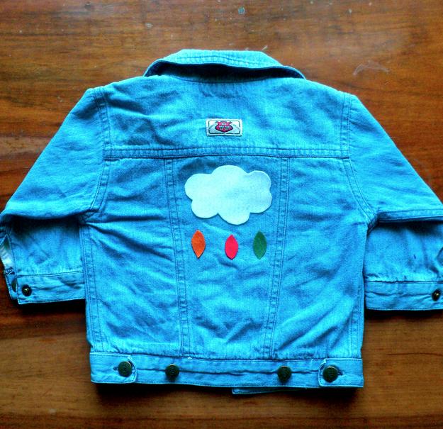 ♡ Tuto, customiser une veste avec de la feutrine