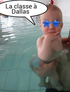 ♡ Activité pour bébé : les bébés nageurs
