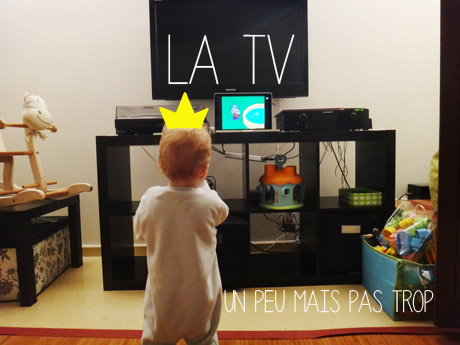 La tv pour les bébés ?