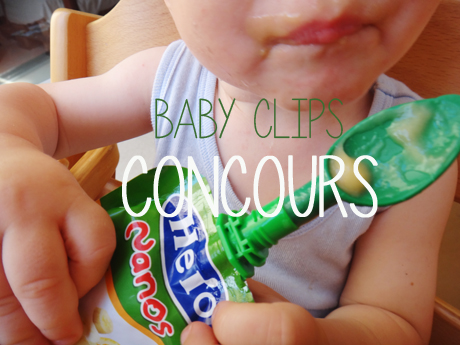 Découverte baby clips