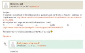 Résultat des concours blog'anniversaire !