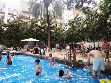 Un petit oasis à Barcelone