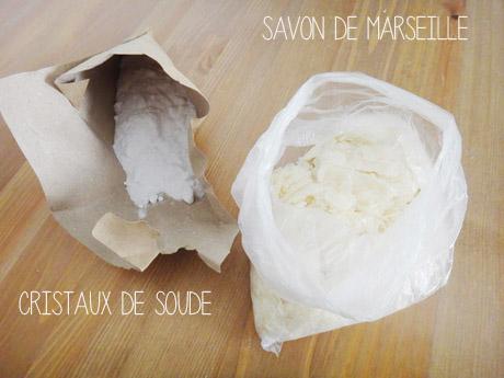 Lessive maison au savon de marseille  Lessive maison au savon de marseille