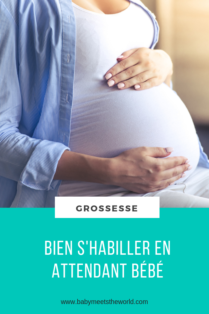 Bien s'habiller en attendant bébé