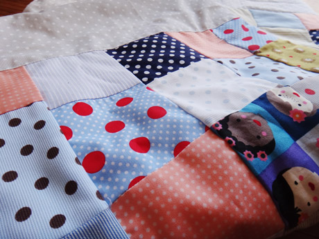 Un plaid en patchwork