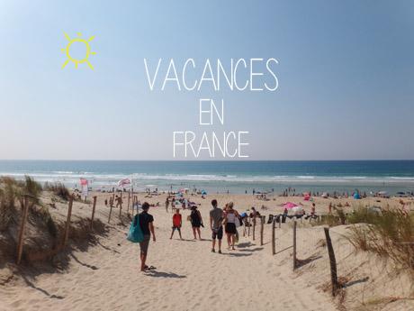 Les vacances en France