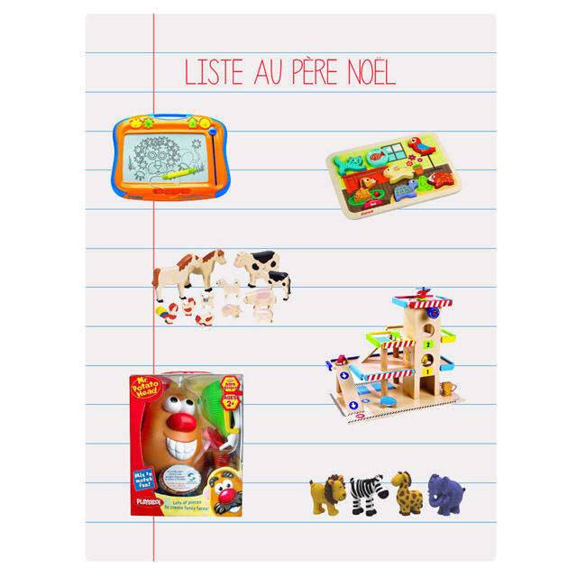 Une wish list de Noël  Une wish list de Noël  Une wish list de Noël  Une wish list de Noël