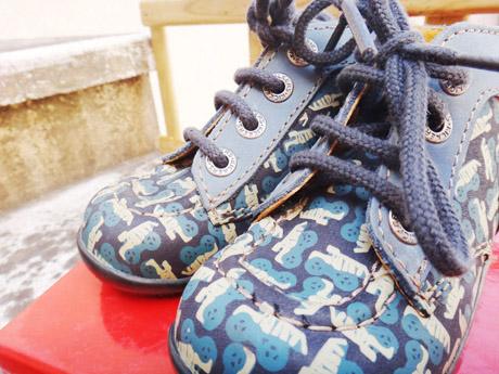 Bien chaussé pour l'hiver !  Bien chaussé pour l'hiver !