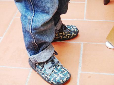 Bien chaussé pour l'hiver !