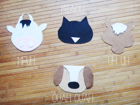 Masques animaux en feutrine  Masques animaux en feutrine  Masques animaux en feutrine  Masques animaux en feutrine  Masques animaux en feutrine  Masques animaux en feutrine