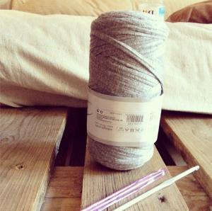 J'ai découvert le trapilho (Tricot/crochet XXL)  J'ai découvert le trapilho (Tricot/crochet XXL)