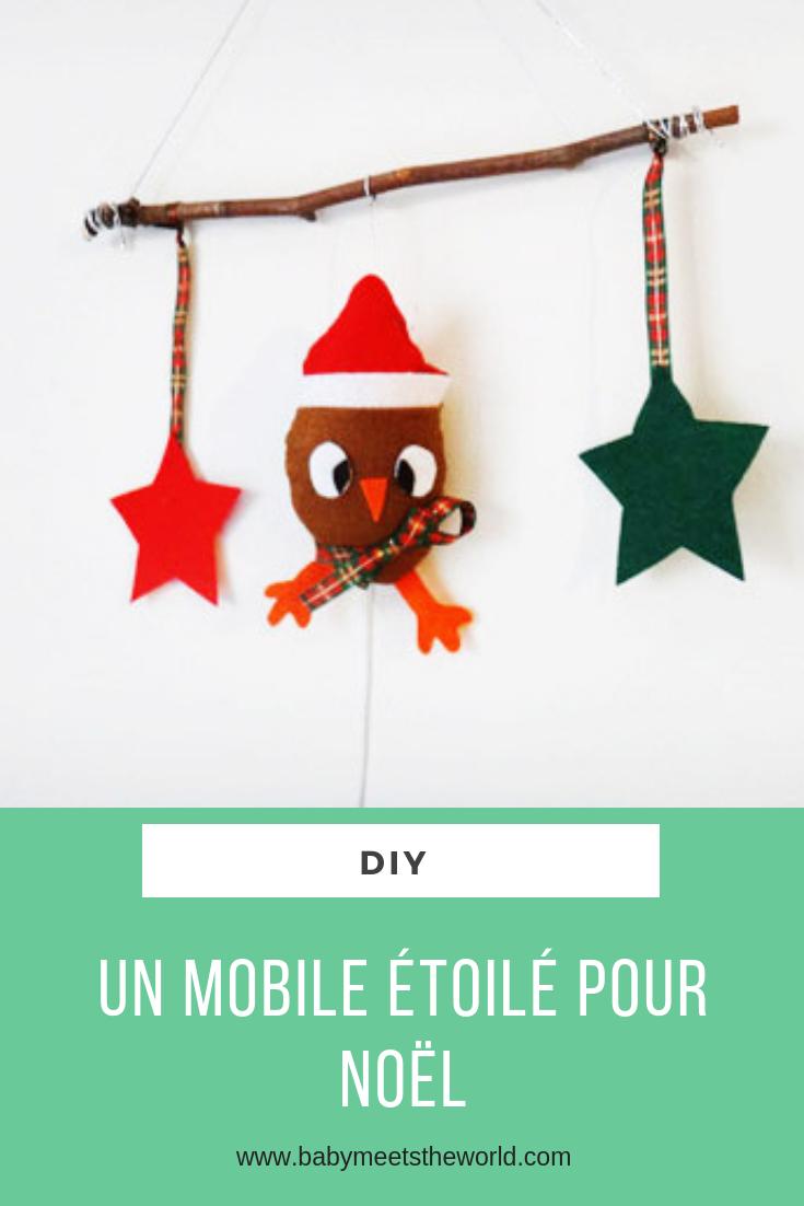 Un mobile étoilé pour Noël