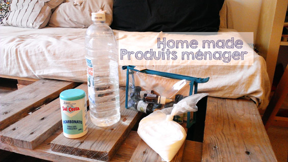 Produits ménagers home made