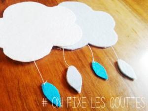 Tuto : Une montgolfière dans les nuages