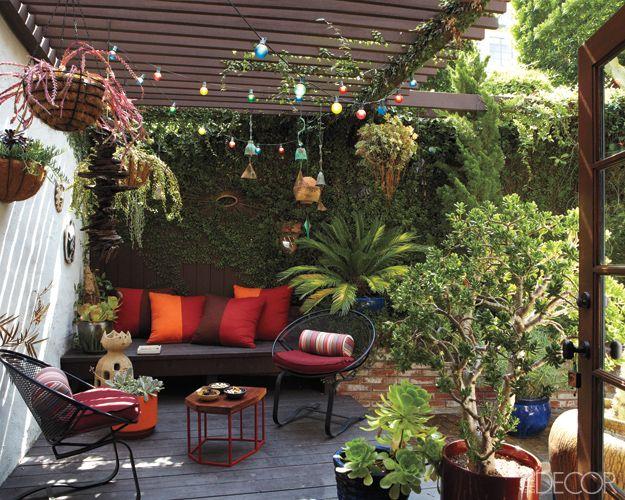Comment amenager une terrasse en longueur - Comment amenager une terrasse de charme ...