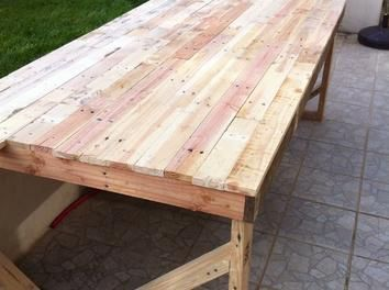 Faire Une Table De Jardin. Good Collection Faire Une Table De Jardin ...