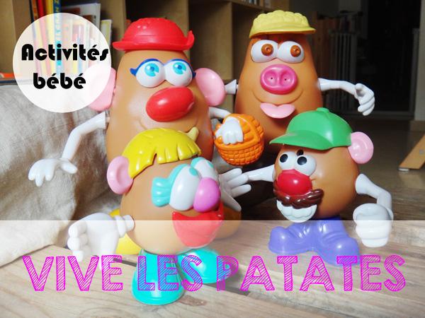 Apprendre en s'amusant avec Monsieur Patate