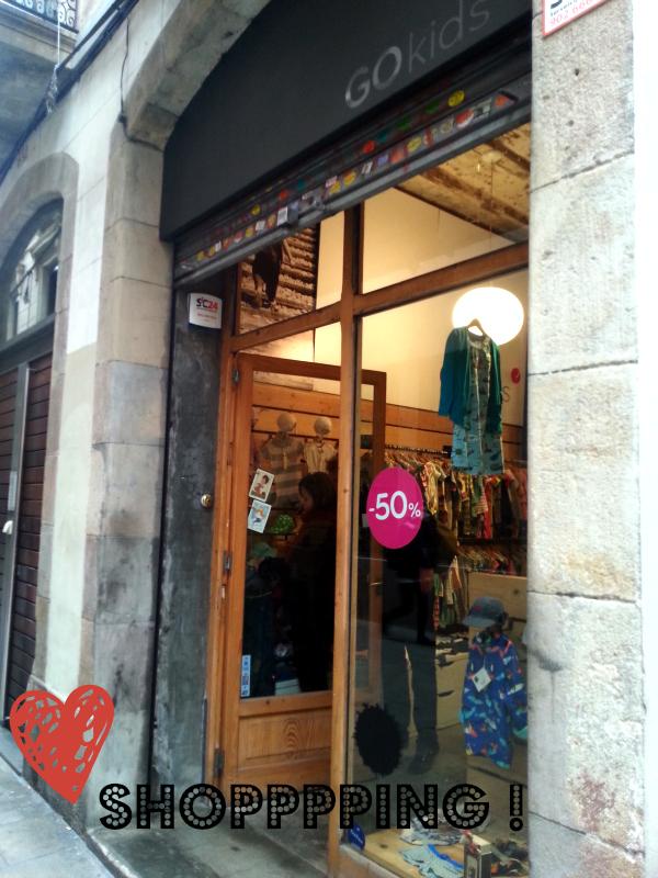 Shopping à Barcelone : Go kids