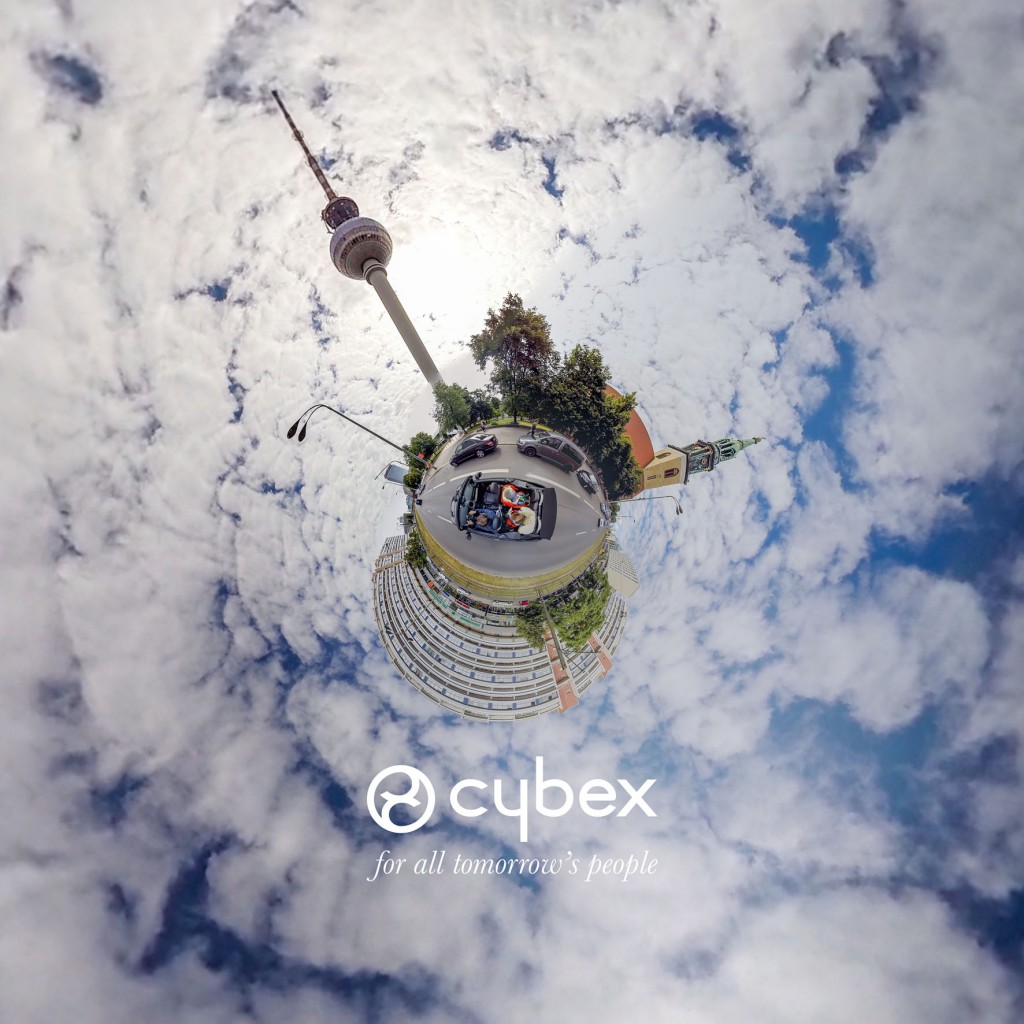 CYBEX - VIDEO TINY PLANET BERLIN 2