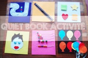 Activité quiet book