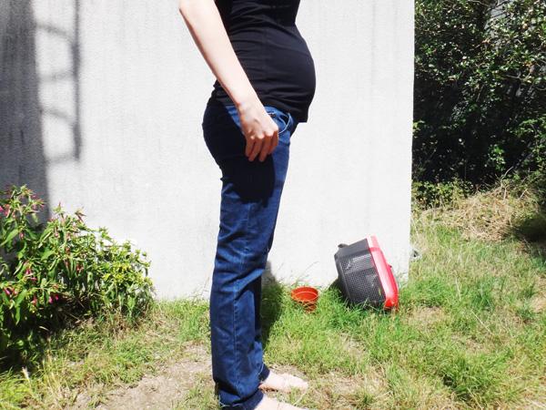 Les jeans de grossesse  Les jeans de grossesse