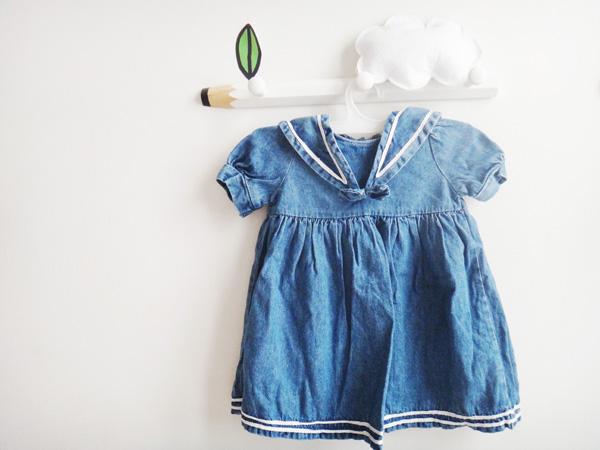 Petits vêtements vintage