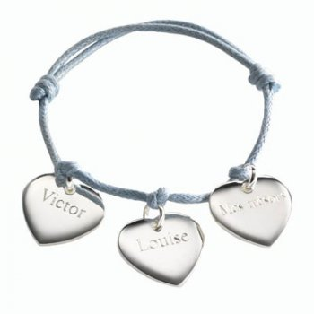 bracelet-coeurs-en-argent
