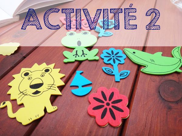 6 activités manuelles