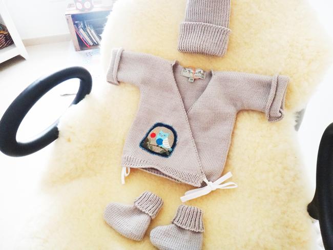 Coffret 100% laine pour mon bébé