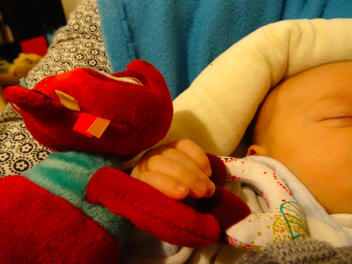 Les premiers joujoux de bébé Luciole