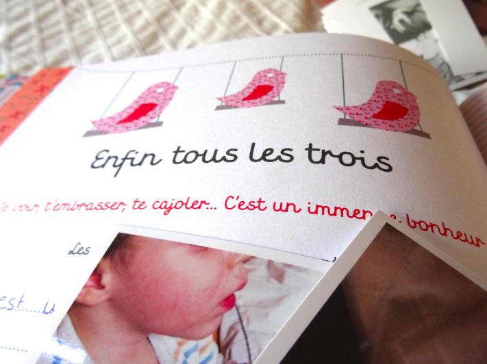 Le plus joli livre de naissance