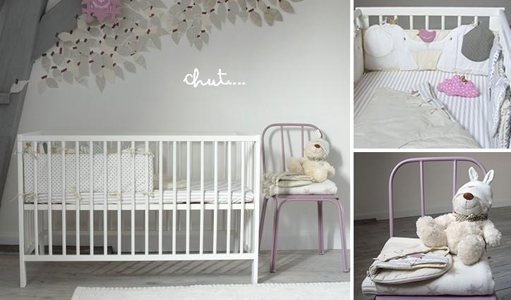 La nouvelle chambre de bébé Luciole