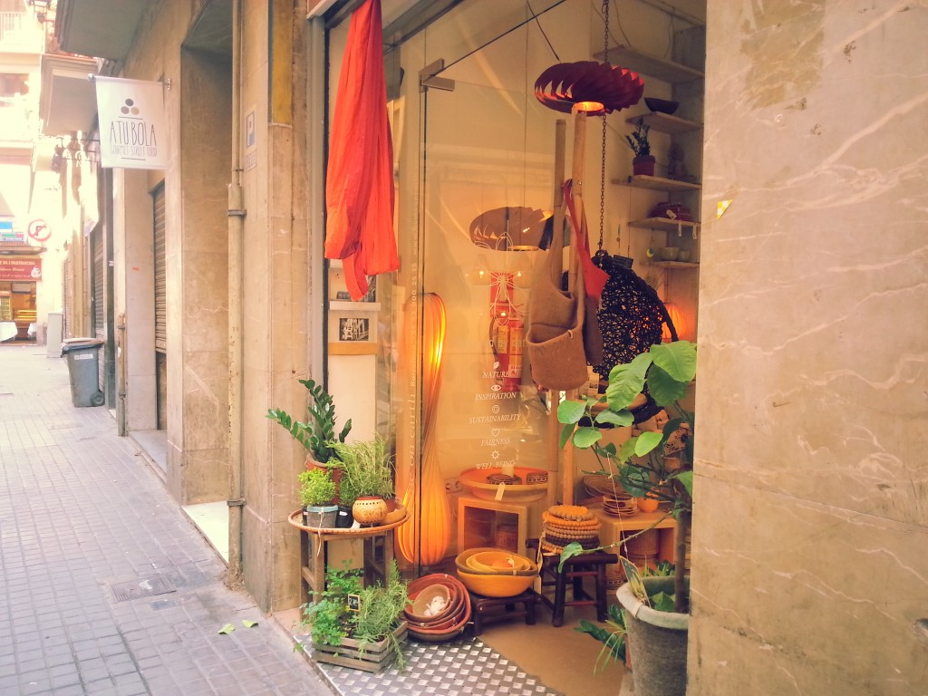 Shopping à Barcelone : Home on earth