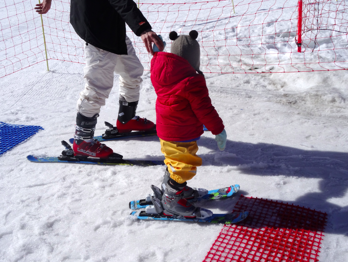 Nos vacances à la neige avec des tout petits
