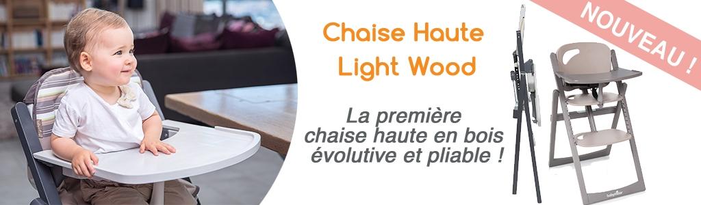 La diversification peut commencer avec la light wood de babymoov
