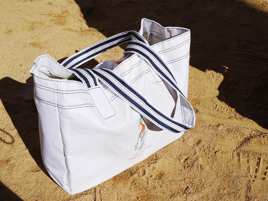 Le parfait sac de plage avec Rigolobo (concours)  Le parfait sac de plage avec Rigolobo (concours)