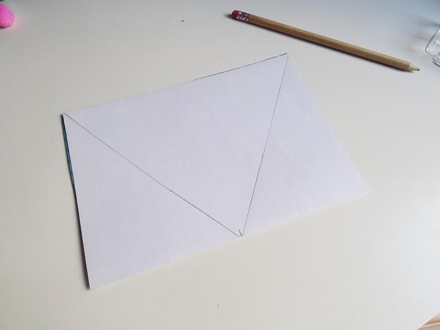 Tuto fanion en papier