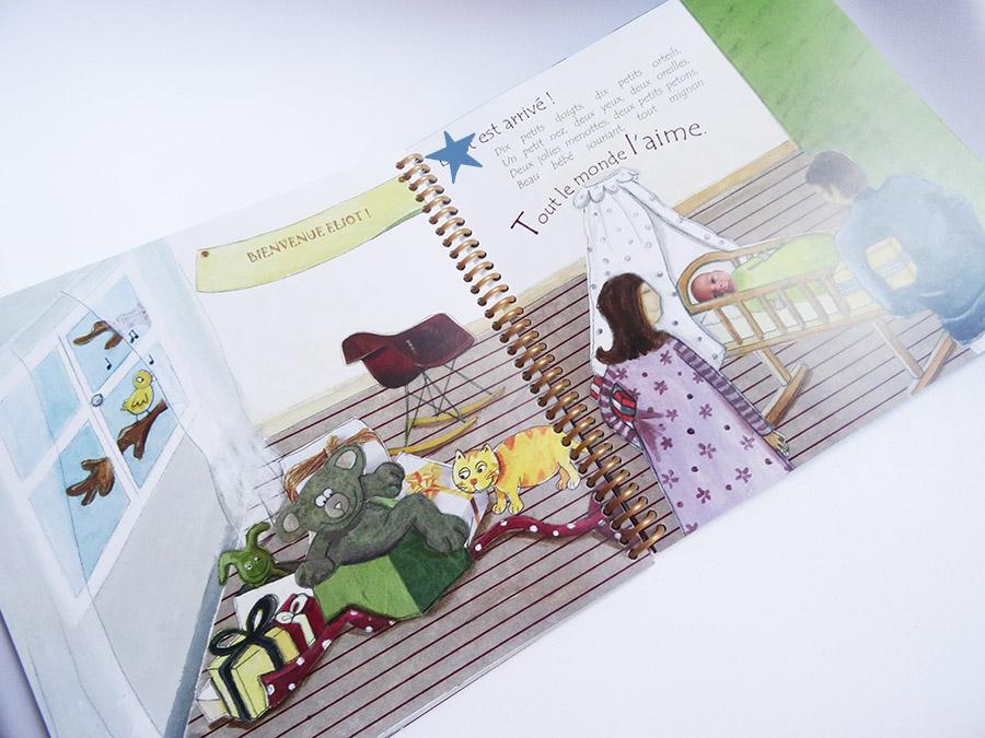 Un petit livre tout en douceur et en originalité avec Unique Editions